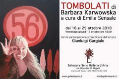 Mostra TOMBOLATI di Barbara Karwowska